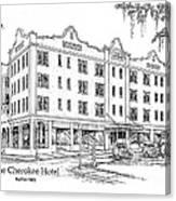 Cherokee Hotel Canvas Print