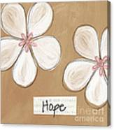 Cherry Blossom Hope Canvas Print