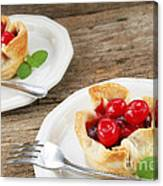 Cherry Dessert Canvas Print