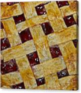Cherry Pie 3782 Canvas Print