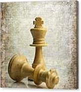 Chess Pieces Canvas Print