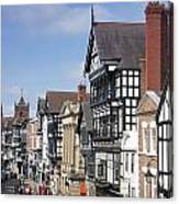 Chester City Centre Canvas Print