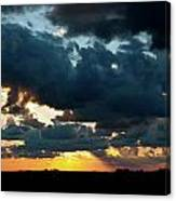 Chestnut Ridge Sunset 2642 Canvas Print