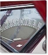 Chevrolet 3100 Truck Speedometer Canvas Print