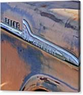 Chevrolet Apache 31 Pickup Truck Emblem Canvas Print