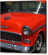 Chevrolet Bel-air Stationwagon . Orange . 7d15268 Canvas Print
