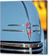 Chevrolet Hood Emblem 2 Canvas Print