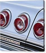 Chevrolet Impala Ss Taillight Canvas Print