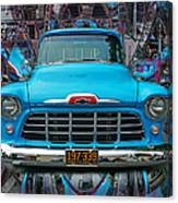 Chevrolet Pick Up Abstract Canvas Print