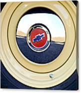 Chevrolet Wheel Emblem Canvas Print