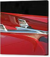 Chevy Bel Aire Hood Ornament Canvas Print