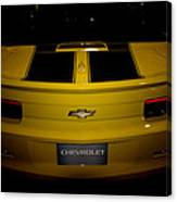 Chevy Camaro Covertible Rs Tail Canvas Print