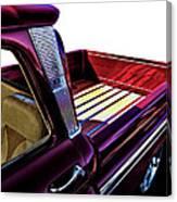 Chevy Custom Truckbed Canvas Print