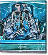 Chevy Engine Hdr Canvas Print