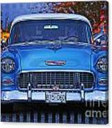 Chevy Front End Canvas Print