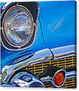 Chevy Headlight Canvas Print