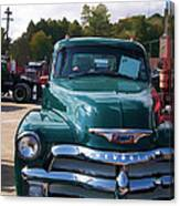 Chevy In Green Canvas Print