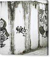 Chiang Mai Graffiti Canvas Print