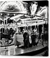 Chicago Carousel Canvas Print