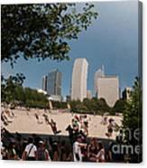 Chicago City Scenes Canvas Print