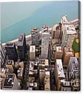 Chicago From Above 2 Canvas Print