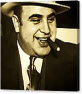 Chicago Gangster Al Capone Canvas Print