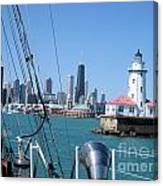 Chicago Harbor Lighthouse Canvas Print