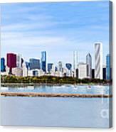 Chicago Panarama Skyline Canvas Print