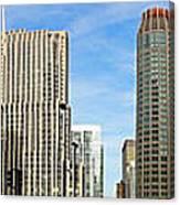 Chicago Panorama 1 Canvas Print