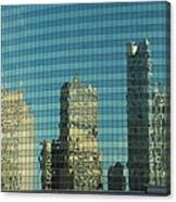 Chicago Window Reflections Canvas Print