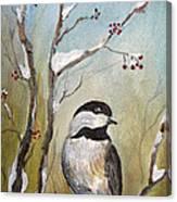 Chickadee Part 1 Canvas Print