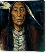 Chief Niwot Canvas Print