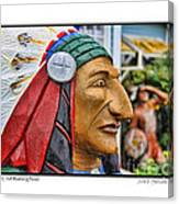 Chief Running Nose Canvas Print