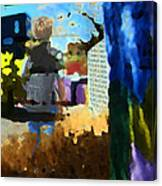Childhood Of A Boy Canvas Print
