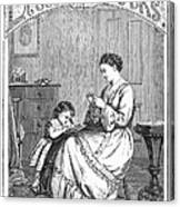 Childrens Magazine, C1885 Canvas Print