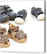 Childs Shoes Canvas Print