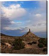 Chimney Rock On The Oregon Trail Canvas Print