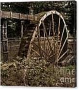 China Clay Waterwheel Canvas Print