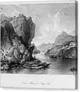 China: Coal Mining, 1843 Canvas Print