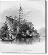 China: Golden Island, 1843 Canvas Print