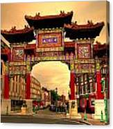 China Town Liverpool Canvas Print