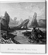 China: Wuyi Shan, 1843 Canvas Print