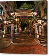 Chinatown Entrance Canvas Print