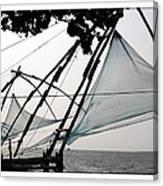 Chinese Fishing Net Canvas Print