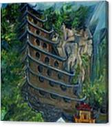 Chinese Hanging Temple Canvas Print