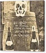 Chinon Wine  Canvas Print