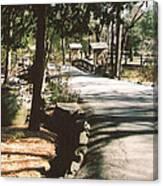Chinqua-penn Road Canvas Print