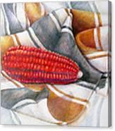 Choclo Solitario Canvas Print