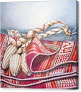 Choclos Envueltos En Aguayo Canvas Print