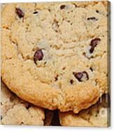 Chocolate Chip Cookies Pano Canvas Print